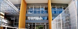 Ampliação da biblioteca Zila Mamede no campus central da UFRN.